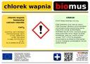 Chlorek WAPNIA techniczny sól drogowa BIOMUS 25kg Producent biomus