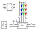 Układ WS2811 sterownik szeregowy diod LED 5szt. Symbol WS2811