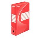 Pudełko na dokumenty Esselte Boxy 80 czerwone