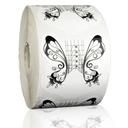 Szablony Formy Do Paznokci 100 Sztuk Czarny Motyl