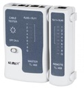 KEMOT Tester do kabli UTP FTP SPT RJ45 RJ11 TL-468