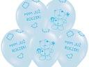 BALONY NA ROCZEK Pierwsze Urodziny 5szt Balon 34cm