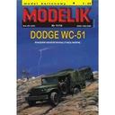 Modelik 11/10 Samochód terenowy DODGE WC-51 1:25