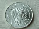 - WŁOCHY -- 1970 -- 1000 Lirów -- SREBRO