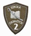 Naszywka Szkoła Chorążych 2 Wojsko Polskie