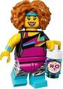 Minifigurki LEGO 71018 seria 17 Trenerka Fitness