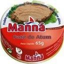 Portugalska pasta z tuńczyka łagodna 65g Manna