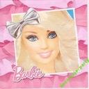 Serwetki Barbie z Kokardą 15 szt urodziny Roczek