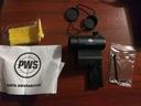 Kolimator zamknięty PWS + wysoki montaż