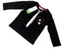 KAPPAHL HALLOWEEN bluzeczka krawat 86/92 12-24m