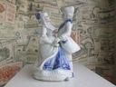 Figurka z porcelany tańcząca para 17,5 cm (O)
