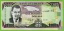 JAMAJKA 100 Dollars 15-1-2011 P-84f UNC Wodospad
