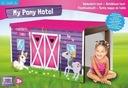 Namiot hotel Pony zakładany na stół
