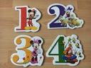 MICKEY MOUSE 1,2,3,4 - PIERWSZE PUZZLE - TREFL