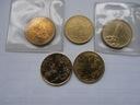 SAN Marino 200 lir. 1986,88,89,2000,01r. na szt.