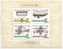 Węgry blok 57 A ** Samoloty, lotnictwo
