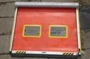 kurtyna brama przemysłowa z plandeki z automatem