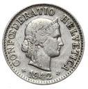 Szwajcaraia - moneta - 5 Rappen 1942