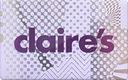 .•:*¨ CLAIRE'S karta biżuteria 56zl ¨*:•.