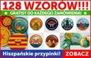 HISZPAŃSKIE PRZYPINKI - 128 wzorów + PREZENTY!!!