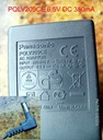 Zasilacz PQLV209CE 6,5V350mA