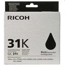 Żel Ricoh typ GC31K GXE3300N GXE7700N ORYG Czarny