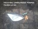 FORD FOCUS MK1 2,0 16V POMPKA PALIWA