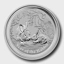 2011 Australia Rok Królika Lunar 1/2 Oz.