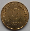 2008r. - Estonia - 1 Korona - Republika Estonii