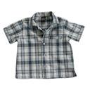 beSquare next - koszula krata len 9-12 mc