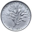Watykan - moneta - 50 Lir 1974