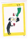 Pocztowka , b/o , humor , sygn. E. Lipinski.