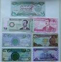 ZESTAW 7 BANKNOTÓW- IRAK też z HUSAINEM