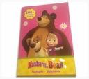 Naklejki nalepki zestaw 200 sztuk Masza Niedźwiedź