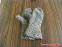 Naalbinding mittens Asle stitch