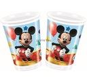 Kubeczki plastikowe - Playful Mickey 8 szt Zabawa