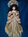 Piękna lalka porcelanowa. Dama 90cm.