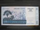 170.  Banknot  Madagaskar 100 Ariary UNC