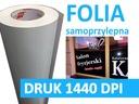FOLIA SAMOPRZYLEPNA MONOMERYCZNA 1440DPI DRUK !!!!