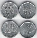 Czechy 20 h.x 2 (dwie odmiany 2)