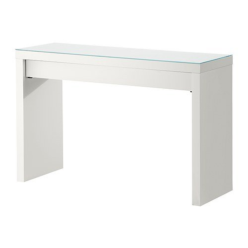 Ogromnie IKEA Malm toaletka biała 120x41 cm szafka stolik 6686467364 EX83