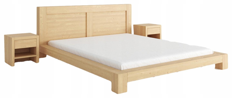 łóżko Enzo 200x200 Brzozowe Meble Meble Na Wymiar