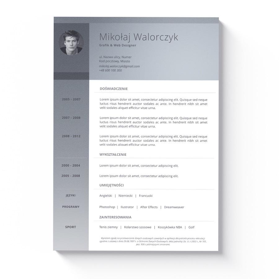 современный шаблон резюме сопроводительное письмо Ms Word купить с