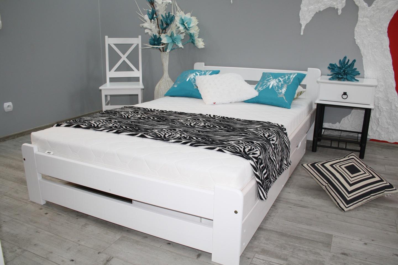 łóżko Eureka 160x200 Materac Sprężynowy Sypialnia