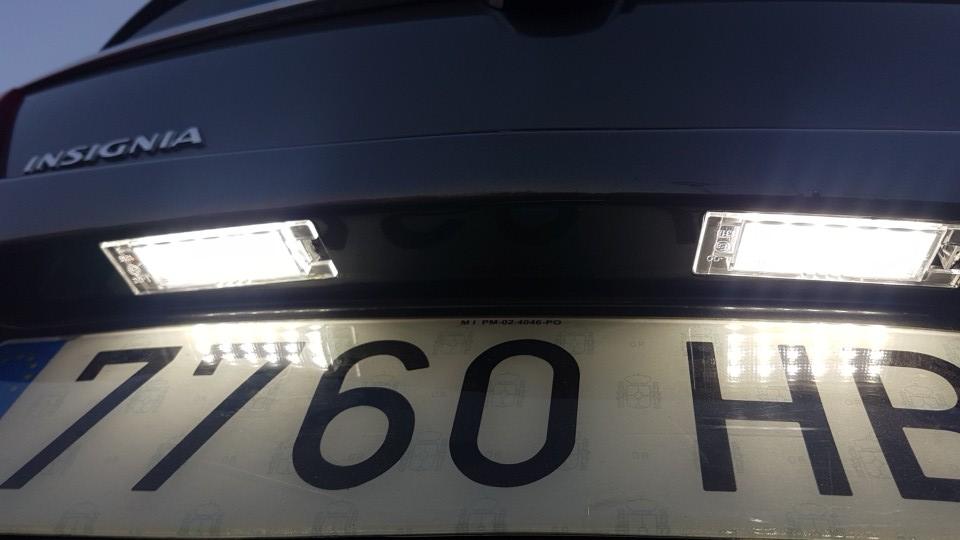 Podświetlenie Led Opel Insignia Zafira B Hyundai