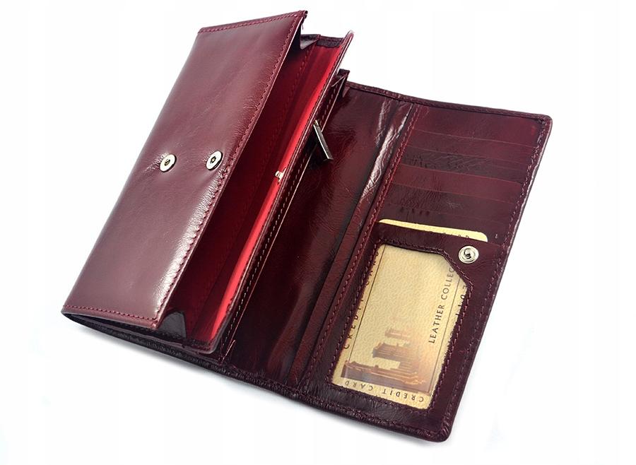 183530214161d portfel damski z kamieniami SWAROVSKI sv-270 czerw 7717399798 ...