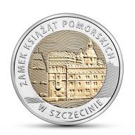 [266] 5 zł Zamek Książąt w Szczecinie MENNICZA