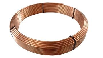 трубка медная на провода колодки 4,8x0,9 10mb