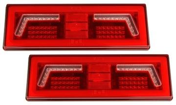 лампа мост фонарь led 12/24v прицепа пара