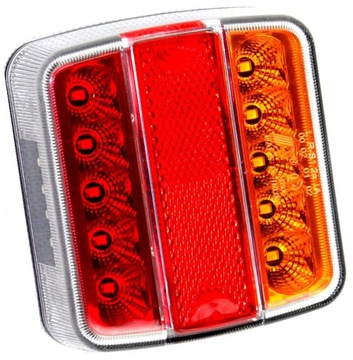 лампа мост прицепа фонарь led диодов эвакуатор